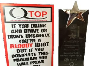Traffic Offenders Program QTOP Awards